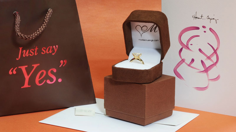 """Just Say Yes."" Ring Package 2"