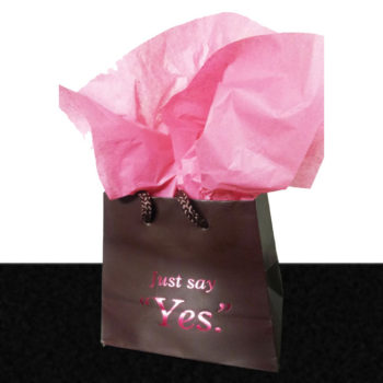 'Just Say Yes.' Gift Bag