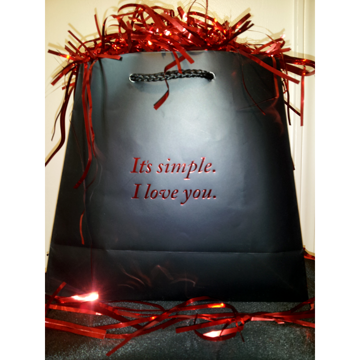 It's simple. I love you. (Gift Bag)